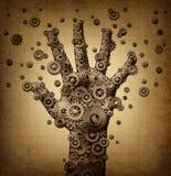 Tacto de la tecnología Imágenes de archivo libres de regalías
