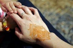 Tacto humano Imagen de archivo libre de regalías