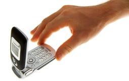 Tacto móvil foto de archivo libre de regalías