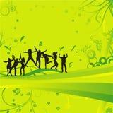tańczące ludzi Zdjęcie Stock