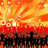 tańczące ludzi Fotografia Stock