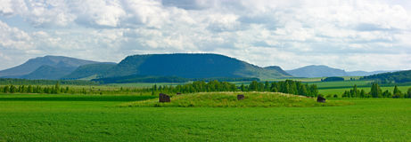 taczkowy wzgórze Zdjęcia Stock
