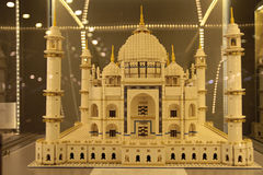 Tadż Mahal. Built from Lego bricks stock images