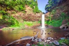 Tad E Tu Waterfall, Bolaven plateau, Pakse, Laos Royalty Free Stock Photography