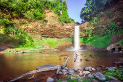 Tad E Tu Waterfall, Bolaven plateau Stock Photo