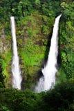 Tad Fan vattenfall i Laos fotografering för bildbyråer