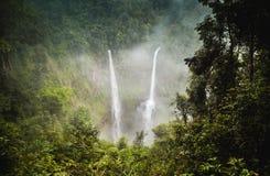 Tad Fan Waterfall Immagine Stock