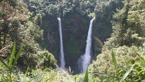Tad Fan Waterfall I stock footage