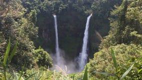 Tad Fan Waterfall stock footage