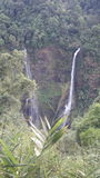 Tad Fane  at  Champasak waterfalls in Laos Stock Photos