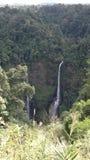 Tad Fane  at  Champasak waterfalls in Laos Royalty Free Stock Images