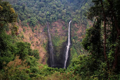 Tad Fane Waterfall, Bolaven Plateau, Champasak Province, Laos Stock Images