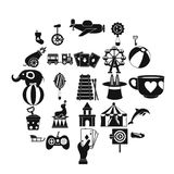 Tad icons set, simple style. Tad icons set. Simple set of 25 tad vector icons for web isolated on white background Royalty Free Stock Photo