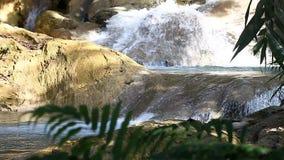 Tad Kuang Si Waterfall - lugar interesante en Luang Prabang, Laos metrajes