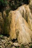 Tad Mok vattenfall i sommaren Fotografering för Bildbyråer
