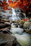 Tad mok waterfall in chiang mai , Thailand Royalty Free Stock Photography