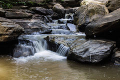 Tad Mork Water Fall in Maerim , Chiangmai Thailand Stock Photography