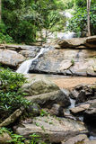 Tad Mork Water Fall in Maerim , Chiangmai Thailand Stock Image