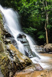 Tad Mork Water Fall in Maerim , Chiangmai Thailand Stock Images