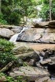 Tad Mork wody spadek w Maerim, Chiangmai Tajlandia Obraz Stock