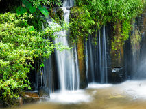 Tad-Pa Suam waterfall Royalty Free Stock Photo