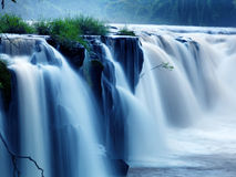 Tad-Pa Suam waterfall Royalty Free Stock Image