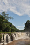 Tad-Pa Suam waterfall. Royalty Free Stock Image