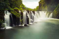 Tad Pha Souam waterfall Stock Photography