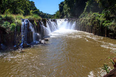 Tad Pha Souam waterfall in Pakse Royalty Free Stock Image