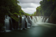 Tad Pha Souam waterfall Stock Photos