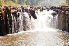 Tad pha suam waterfall Royalty Free Stock Images