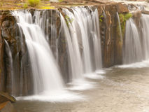 Tad Pha Suam Waterfall, Laos Royalty Free Stock Images