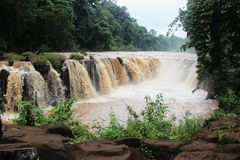 Tad pha suam waterfall Royalty Free Stock Image