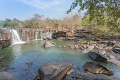 Tad Ton waterfall stock photography