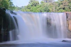 Tad Ton Waterfall i Thailand arkivbild