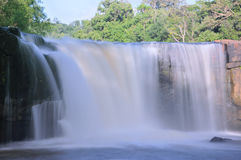 Tad Ton Waterfall in Thailand. Tad Ton Waterfall are Landmark of Chaiyaphum, Thailand Stock Photography