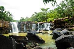 Tad tone waterfall . Royalty Free Stock Photos