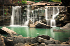 Tad Tone Waterfall. Chaiyaphum, Thailand Royalty Free Stock Photography