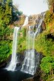 Tad Yaung waterfall, Champasak Laos Stock Image