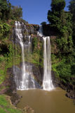 Tad Yeung Waterfall, Laos Stock Photo