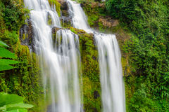 Tad Yeung waterfall in tropical country. Stock Photo