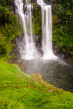 Tad Yeung waterfall in tropical country. Stock Image