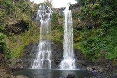 Tad Yuang Waterfall på den Bolaven platån, Laos Royaltyfri Bild