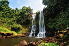 Tad-Yueng waterfalls Stock Images