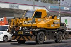 TADANO privato Crevo 100 Crane Truck Fotografie Stock Libere da Diritti