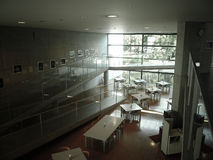 Tadao Ando's Museum. The architecture is designed by Tadao Ando, a Japanese architect Royalty Free Stock Photos