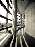 Tadao Andos Museum Lizenzfreie Stockfotos