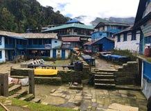 Tadapani-Dorf lizenzfreies stockfoto