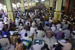 Tadarus studie Qur'an Arkivbilder