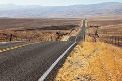 Tadellos glatte Datenbahn und Wüste Lizenzfreies Stockbild